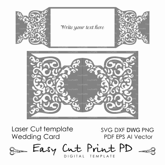 Lace Wedding Invitation Template Inspirational Wedding Invitation Pattern Card Template Shutters Gates Doors