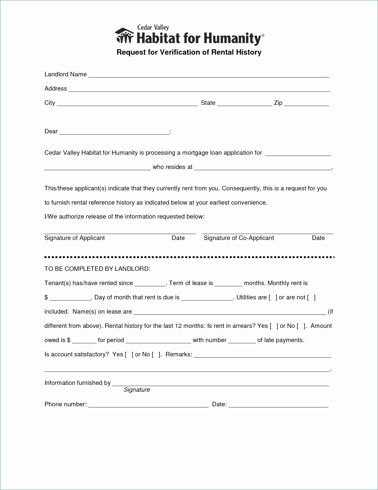 Landlord Verification form Template Awesome Letter Of Rental Verification 4