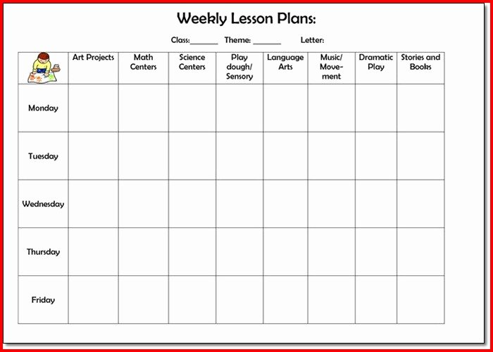 Lesson Plan Template College Luxury College Lesson Plan Template