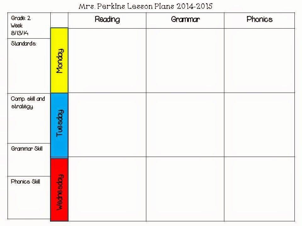 Lesson Plan Template Common Core Unique Free Editable Lesson Plan Template