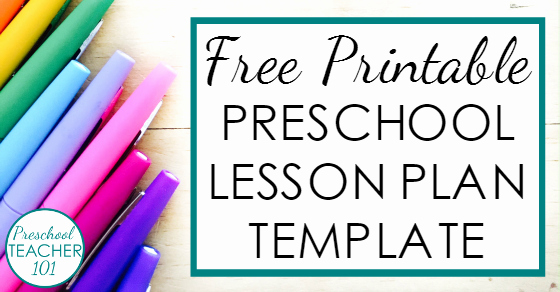 Lesson Plan Template Free Printable Luxury Preschool Lesson Plan Template for Weekly Planning