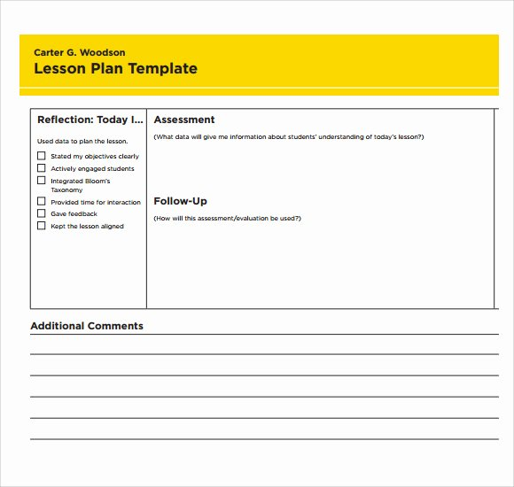 Lesson Plan Template Free Printable Luxury Sample Printable Lesson Plan Template 8 Free Documents