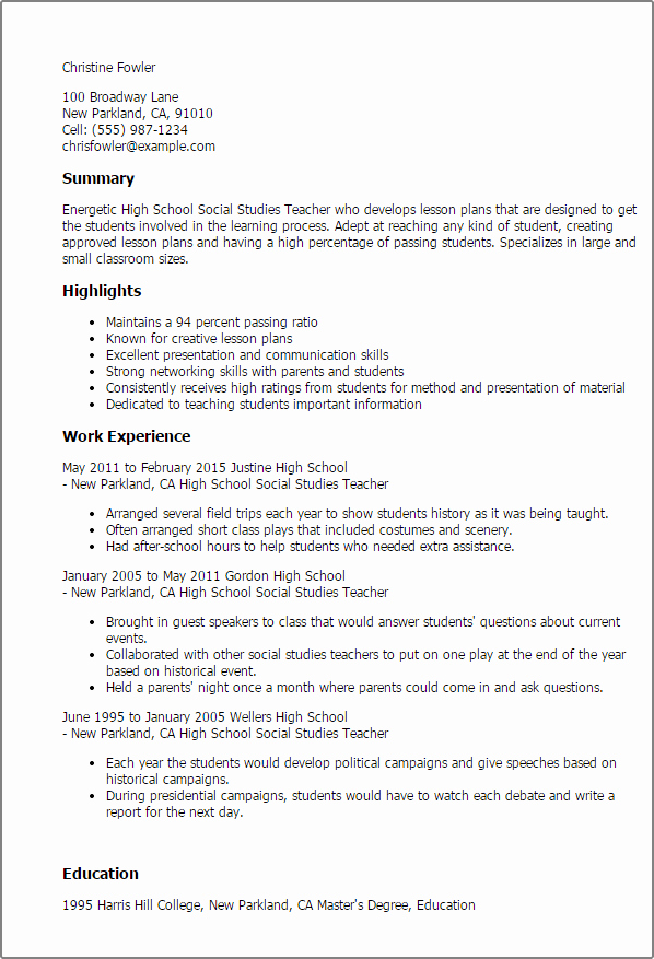 Lesson Plan Template Nyc Elegant Professional High School social Stu S Teacher Templates