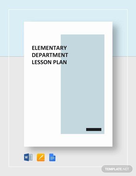 Lesson Plan Template Word Doc Elegant 18 Microsoft Word Lesson Plan Templates