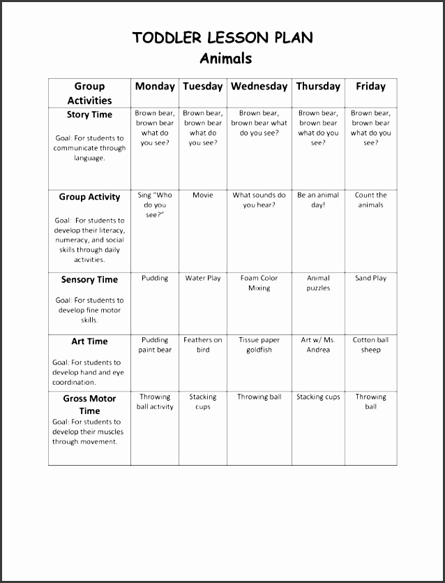 Lesson Plan Template Word Doc Fresh 6 Daily Lesson Planner Outline Sampletemplatess