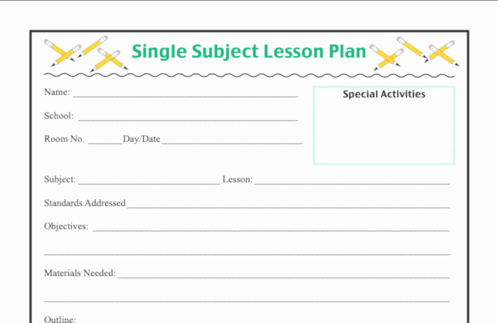Lesson Plans Template Elementary Elegant 6 Lesson Plan Examples for Elementary School Classcraft Blog