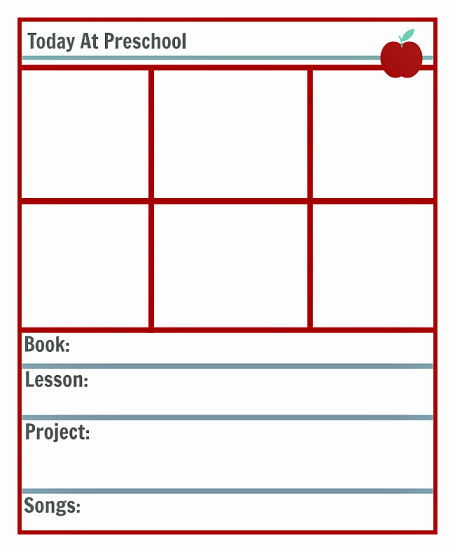 Lesson Plans Template Free Lovely Preschool Lesson Planning Template – Free Printables