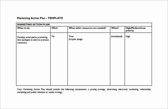 Marketing Action Plan Template Excel Best Of 9 Marketing Action Plan Templates Doc Pdf