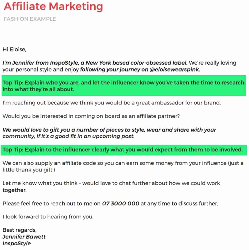 Marketing Outreach Plan Template Beautiful 11 Outstanding Influencer Outreach Email Templates