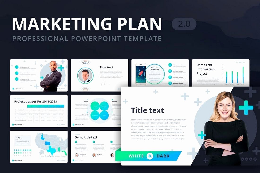 Marketing Plan Powerpoint Template Lovely 30 Modern Professional Powerpoint Templates