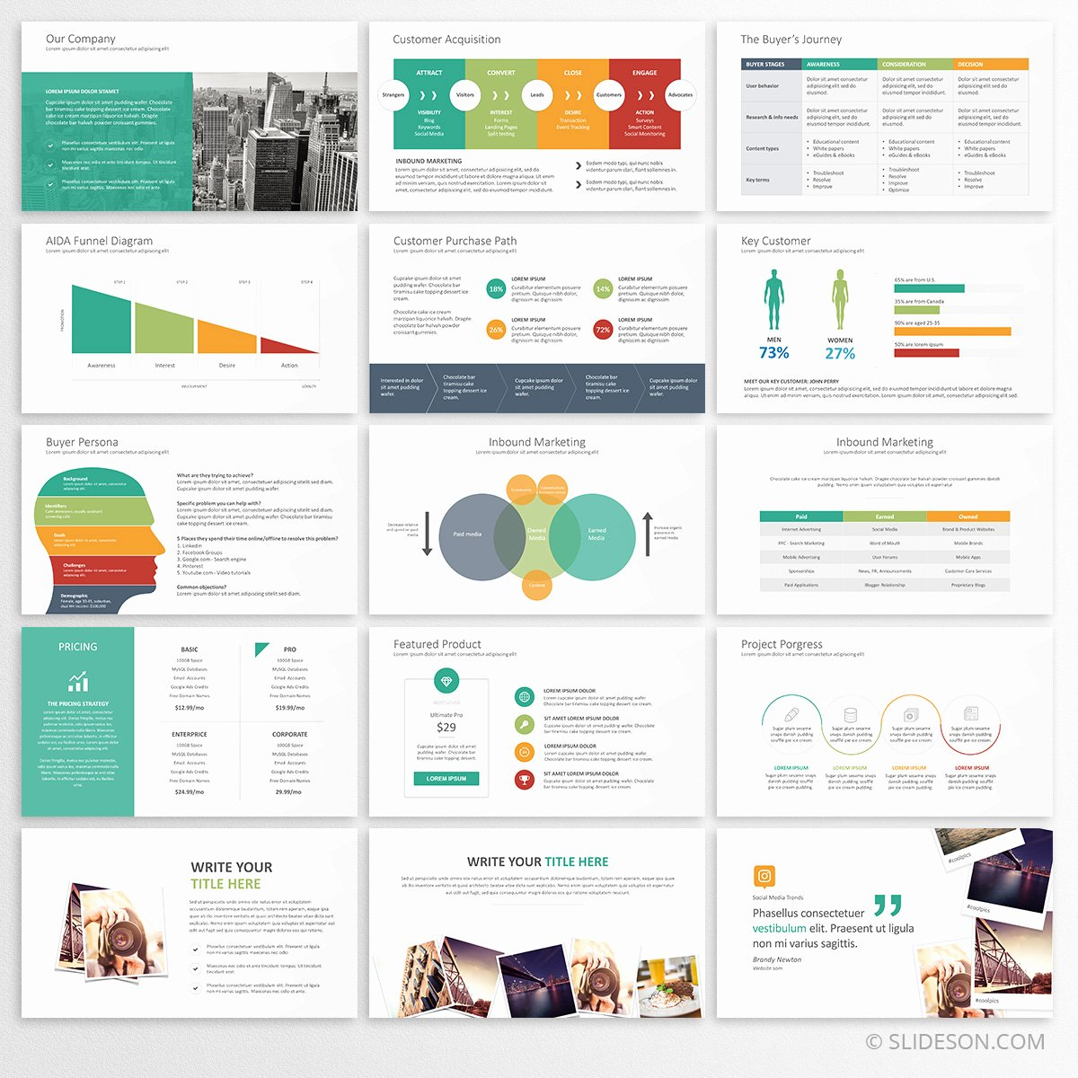 Marketing Plan Powerpoint Template Luxury Marketing Plan Powerpoint Template Marketing Strategy