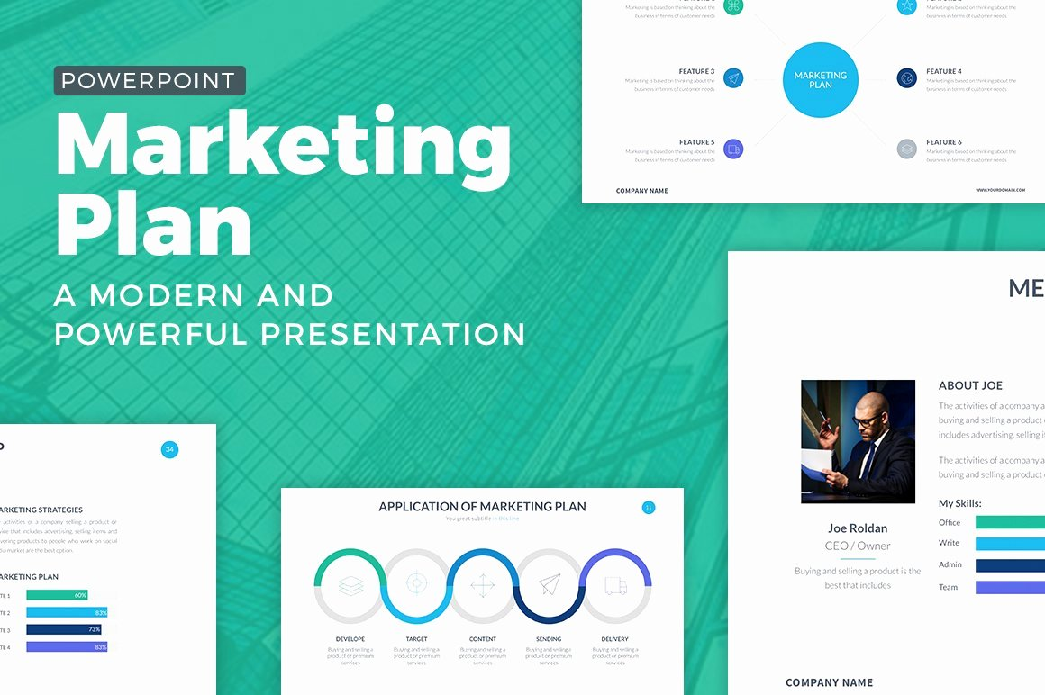 Marketing Plan Powerpoint Template Luxury Marketing Plan Powerpoint Template Powerpoint Templates