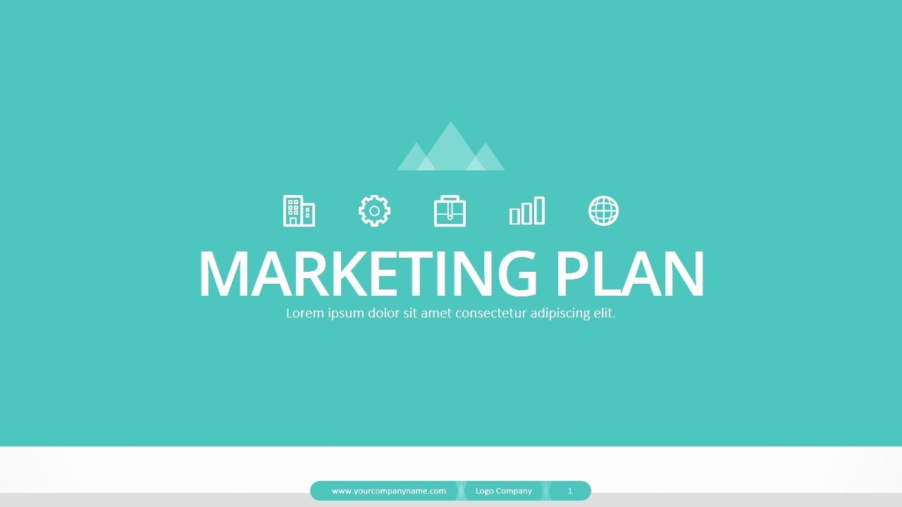 Marketing Plan Powerpoint Template New Marketing Plan Powerpoint Presentation by Jhon D atom