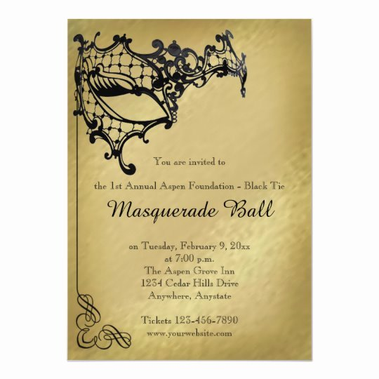 Masquerade Ball Invitations Template Awesome Filigree Masquerade Mardi Gras Ball Invitation