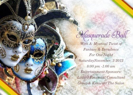 Masquerade Ball Invitations Template Inspirational Pinterest • the World's Catalog Of Ideas