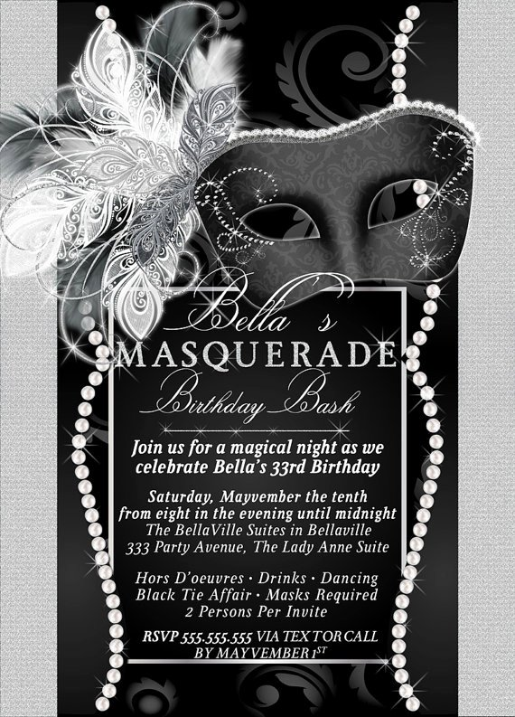 Masquerade Ball Invitations Template New Masquerade Party Invitation Mardi Gras Party Party