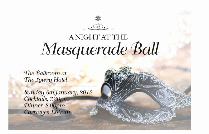 Masquerade Ball Invitations Template New Masquerade Party Invitations Templates