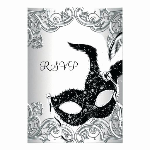Masquerade Mask Invitation Template Awesome Masquerade Mask Invitations – Shukyakumaster