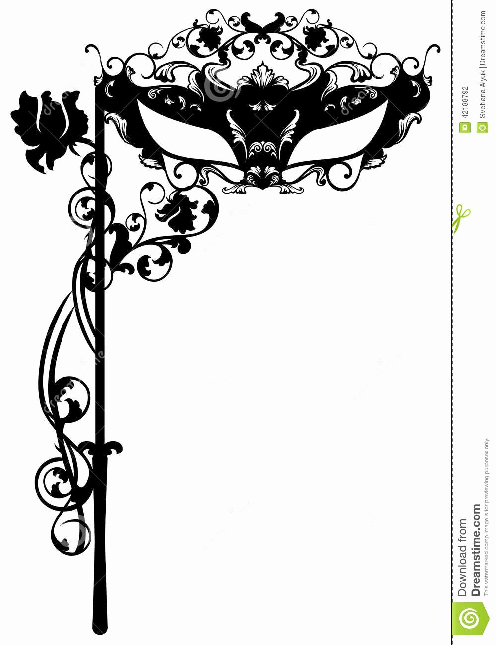 Masquerade Mask Invitation Template Best Of Face Mask Stock Vector Illustration Of Illustration
