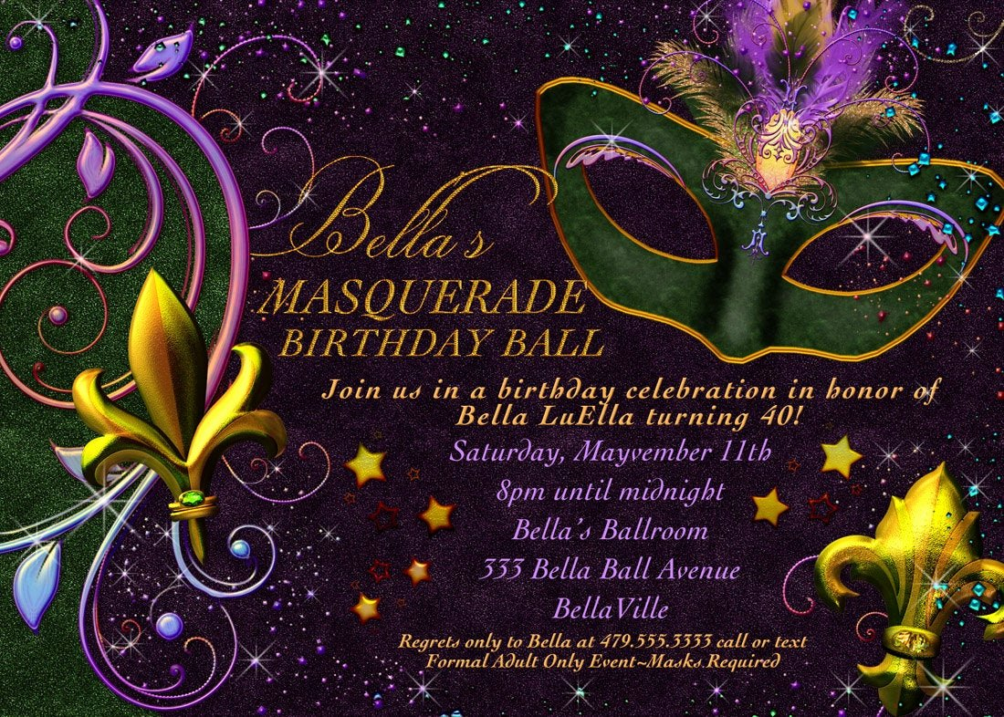 Masquerade Mask Invitation Template Best Of Masquerade Invitation Mardi Gras Invitation Masquerade