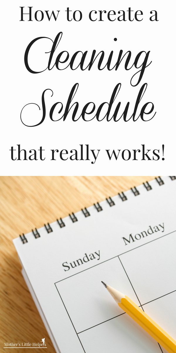 Master Cleaning Schedule Template Beautiful How to Create A Cleaning Schedule that Really Works