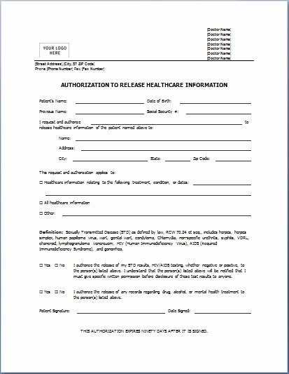 Medical Consent form Template Free Inspirational Medical form Templates Microsoft Word – Templates Free