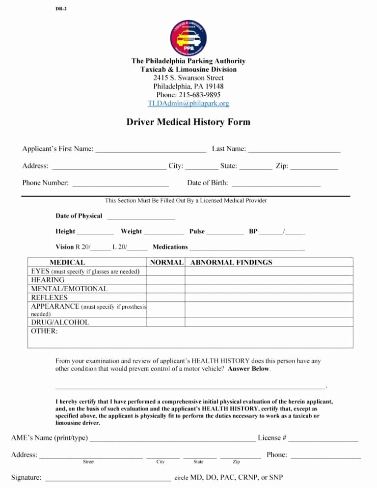 Medical History form Template Pdf Lovely 67 Medical History forms [word Pdf] Printable Templates
