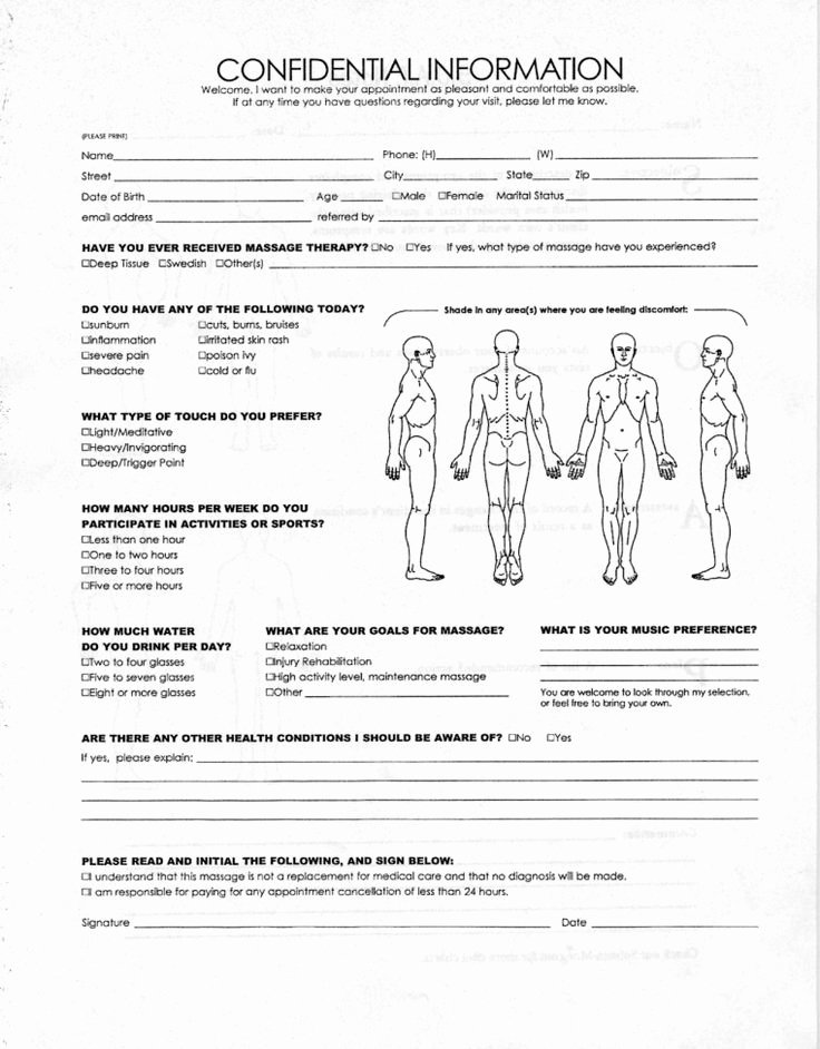Medical Intake form Template Inspirational Client History Intake forms What are they Good for why