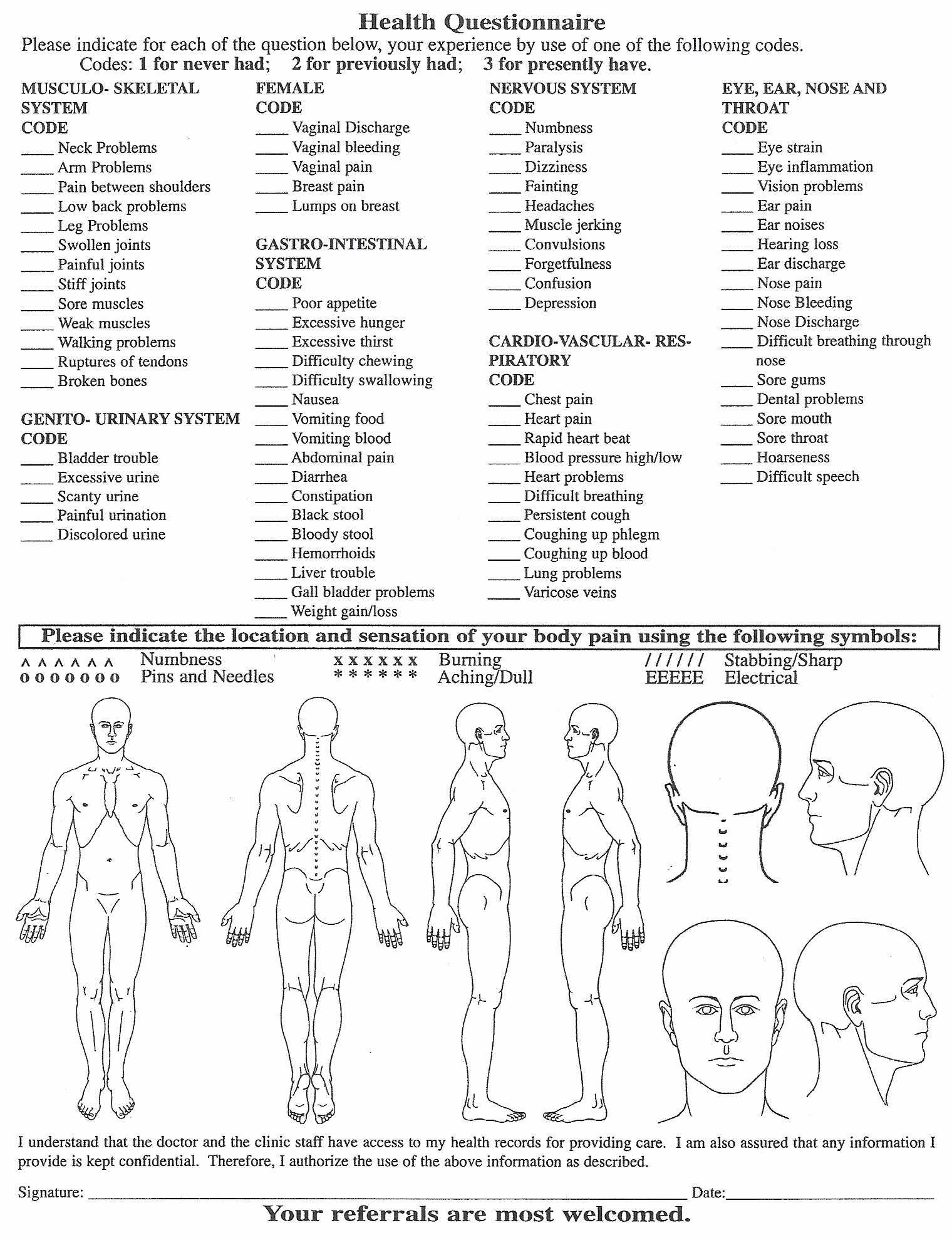 Medical Intake forms Template Elegant Chair Massage Intake form Body Massage Consultation form