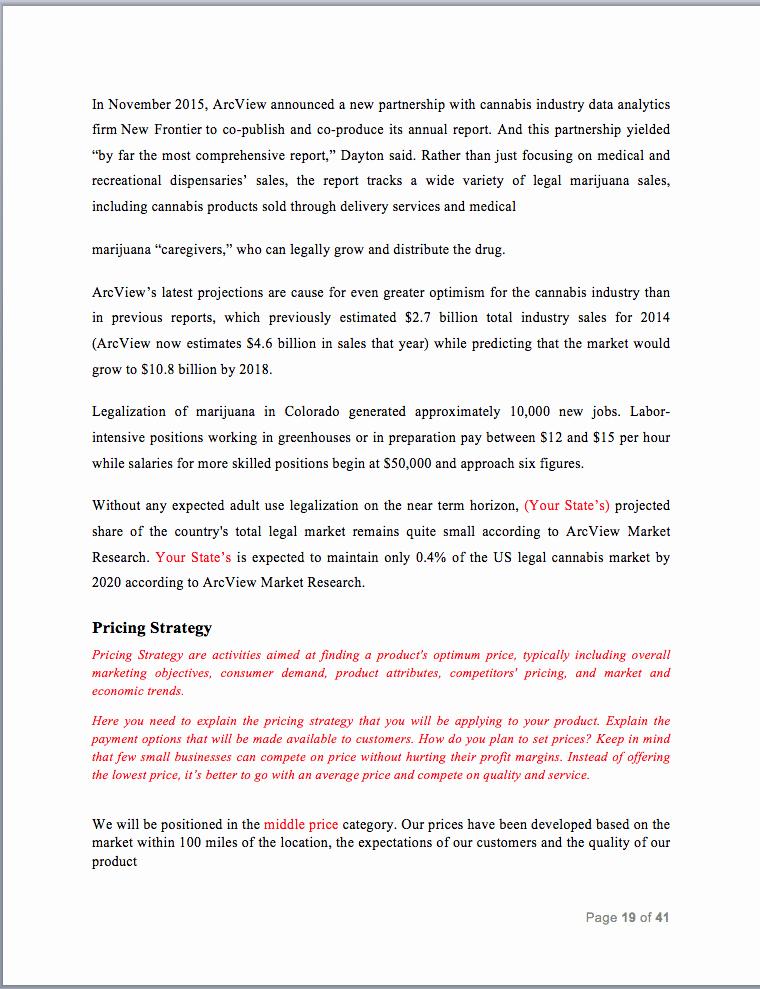 Medical Marijuana Business Plan Template Lovely Screen Shot 2018 03 28 at 8 27 53 Pm Black Box Business