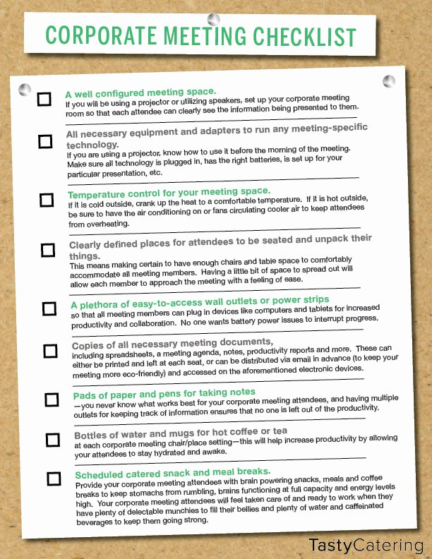 Meeting Planner Checklist Template Unique Corporate Meeting Planning Checklist & Tips