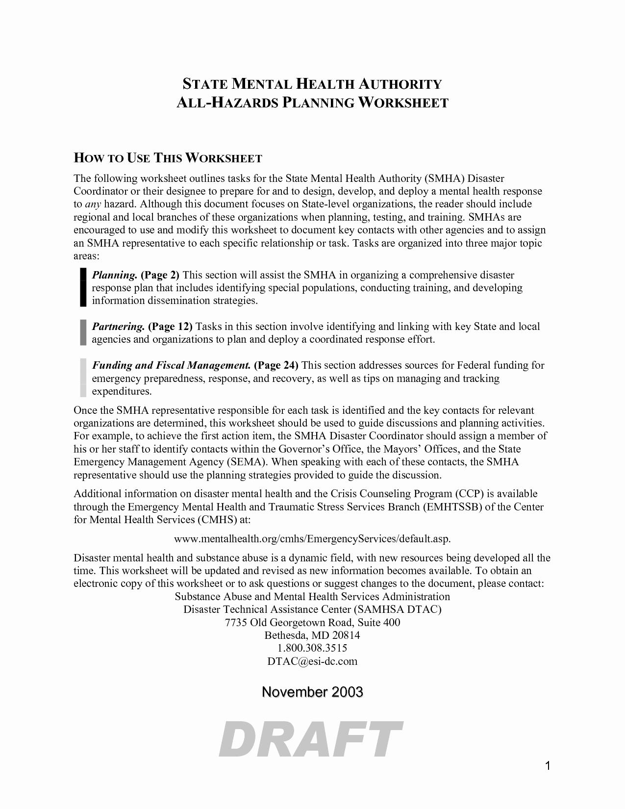 post mental health crisis plan worksheet
