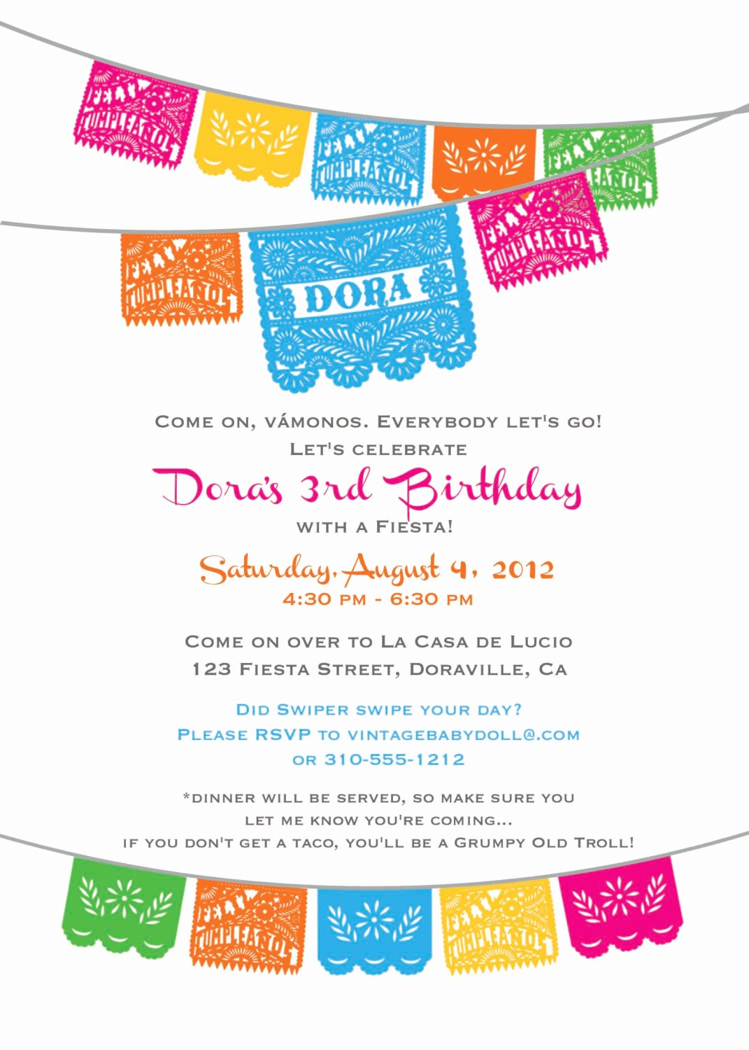 Mexican Party Invite Template Elegant Unavailable Listing On Etsy