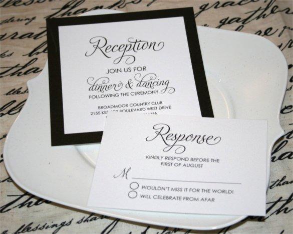 Microsoft Office Wedding Invitation Template Beautiful 27 Modern Wedding Invitation Templates Free Sample