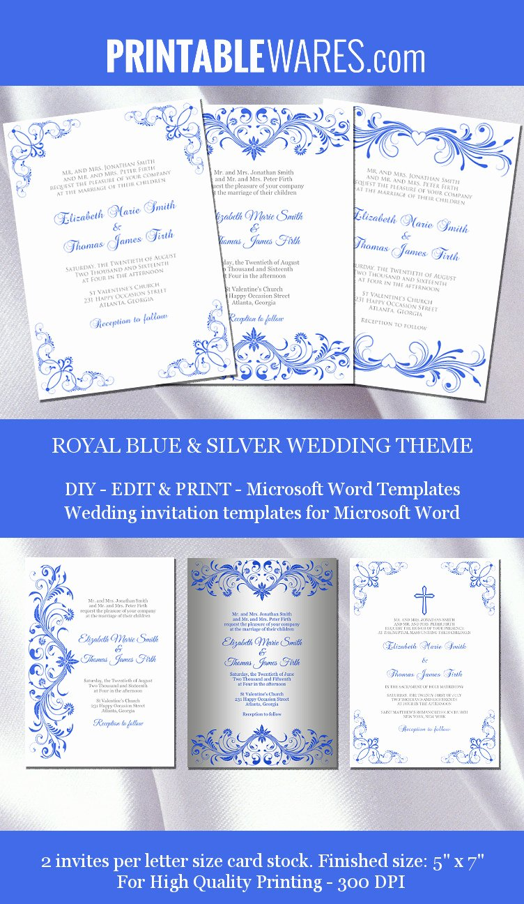 Microsoft Office Wedding Invitation Template Fresh Royal Wedding Invitation Templates