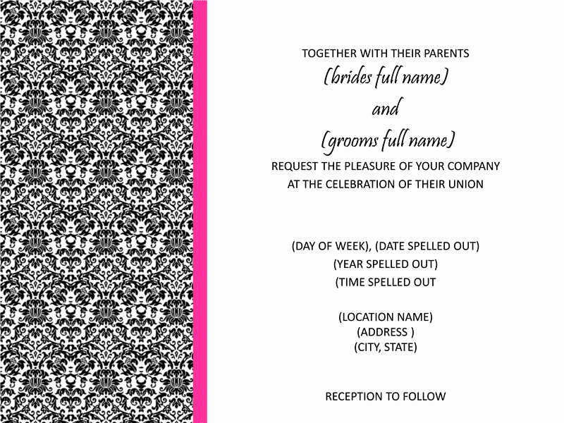 Microsoft Office Wedding Invitation Template Luxury Ce Upon A Crafty Mom Free Bridal Shower and Wedding