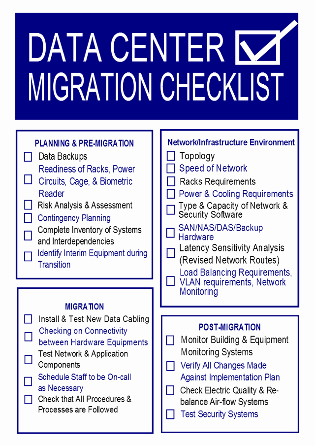 Migration Project Plan Template Best Of Costly Data Center Migration Pitfalls and How to Avoid