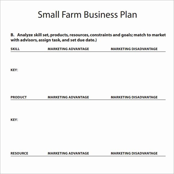 Mini Business Plan Template Unique Free 18 Sample Small Business Plans In Google Docs