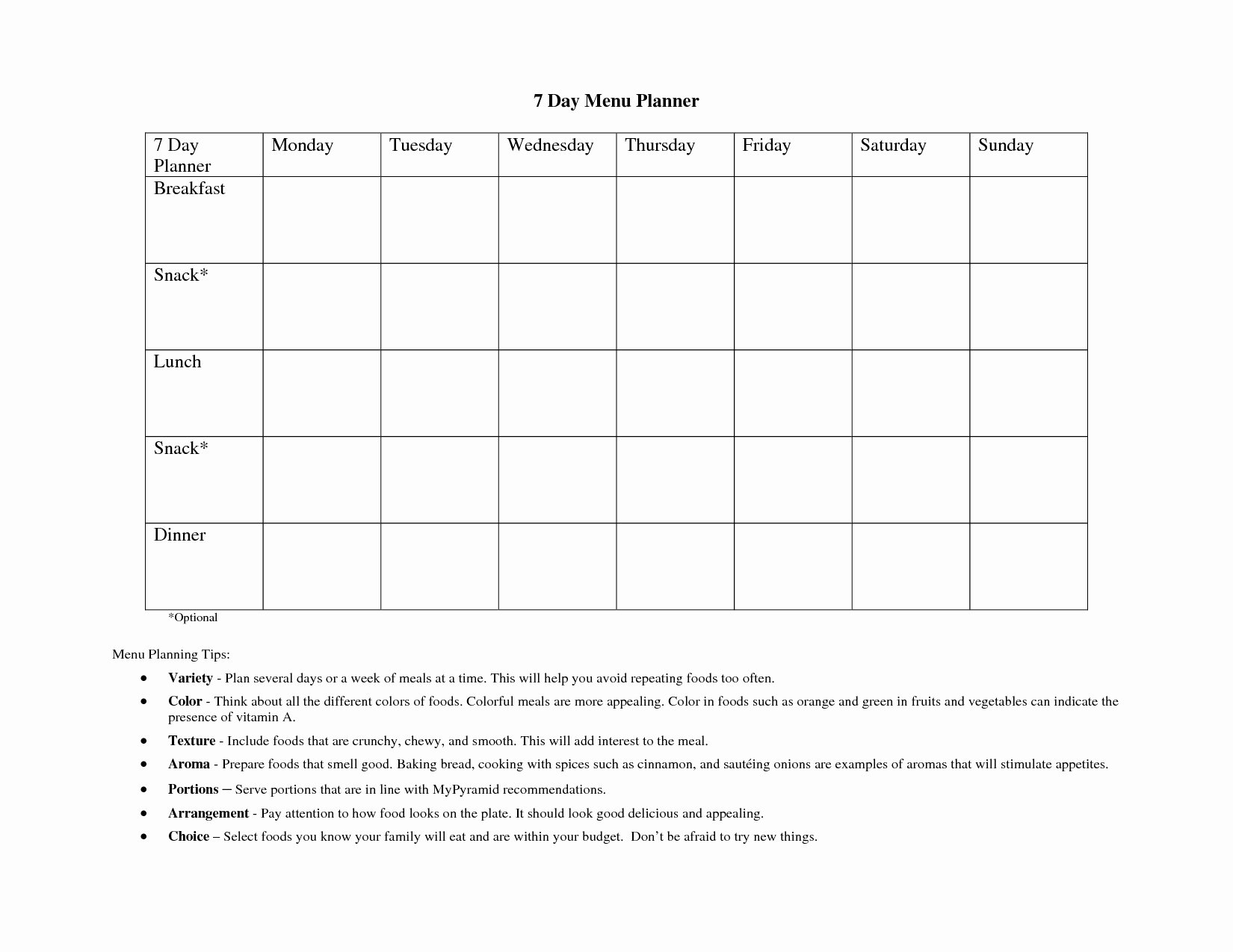 Monday Through Sunday Schedule Template Elegant Collect Blank Monday Through Friday Work Schedule ⋆ the