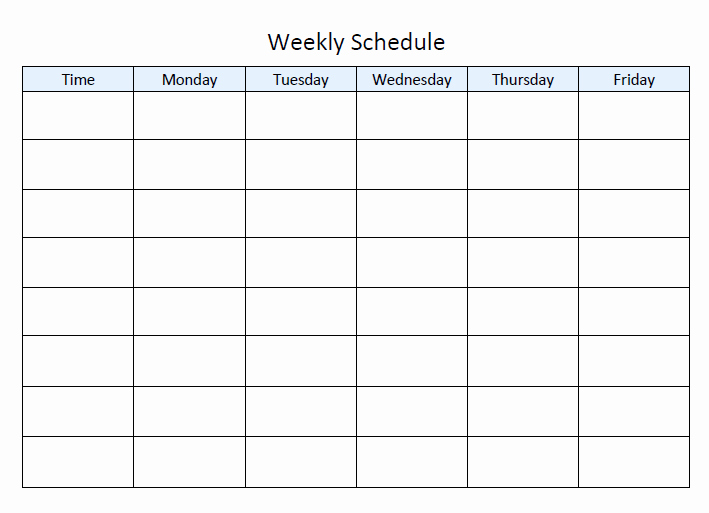 Monday to Friday Schedule Template Elegant Step by Step Guide to Planning Your Homeschool Year