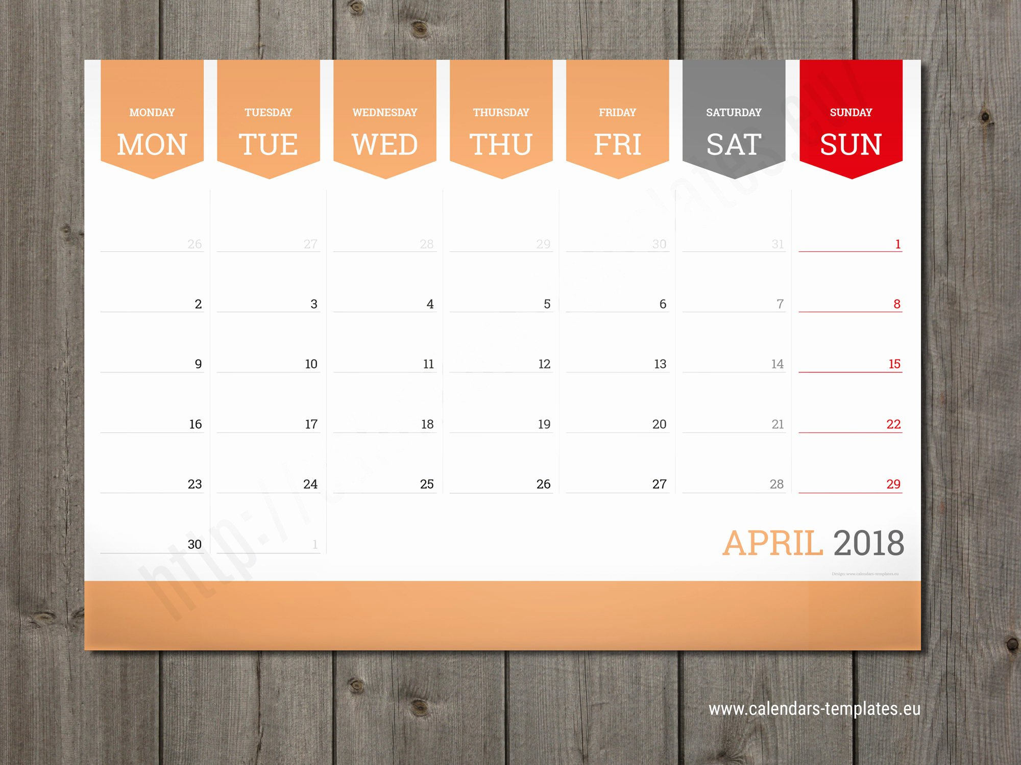 Monthly Calendar Schedule Template Awesome 12 Month Wall and Desk Planner Calendar Agenda 2018 Template