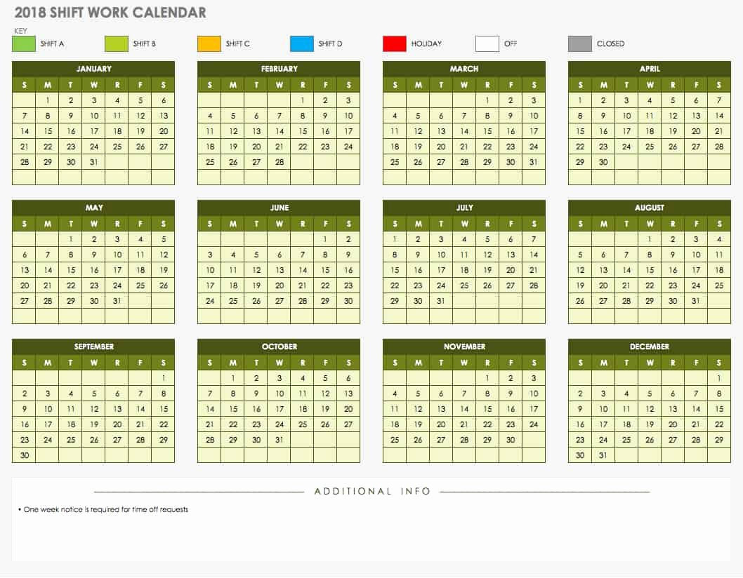 Monthly Calendar Schedule Template Fresh 15 Free Monthly Calendar Templates