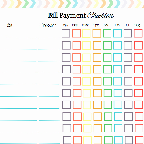 Monthly Payment Schedule Template Beautiful Here is A List Of some Free Printable Bill Calendar