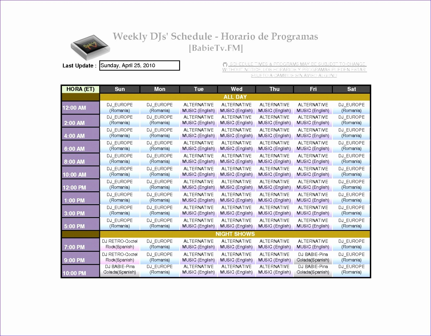 Monthly Shift Schedule Template Best Of 7 Monthly Staff Schedule Template Excel Exceltemplates