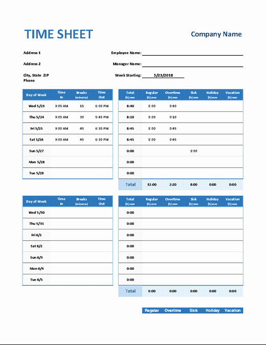 Monthly Shift Schedule Template Elegant Weekly Employee Shift Schedule Fice Templates