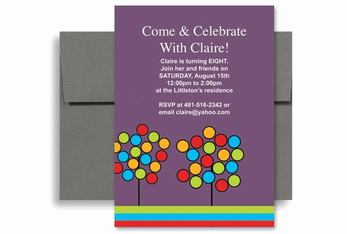 Ms Office Invitation Template Elegant Create Your Own Microsoft Word Birthday Invitation 5x7 In