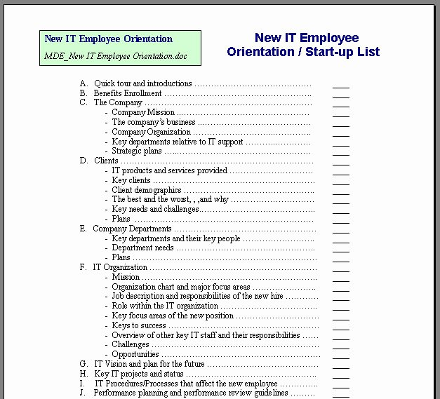 New Hire Training Plan Template Elegant Others May Not Know What You Know