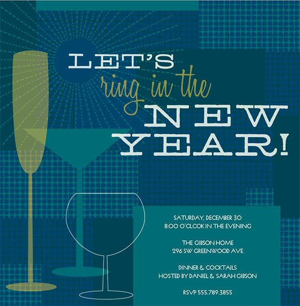 New Year Party Invitation Template Beautiful 28 New Year Invitation Templates – Free Word Pdf Psd