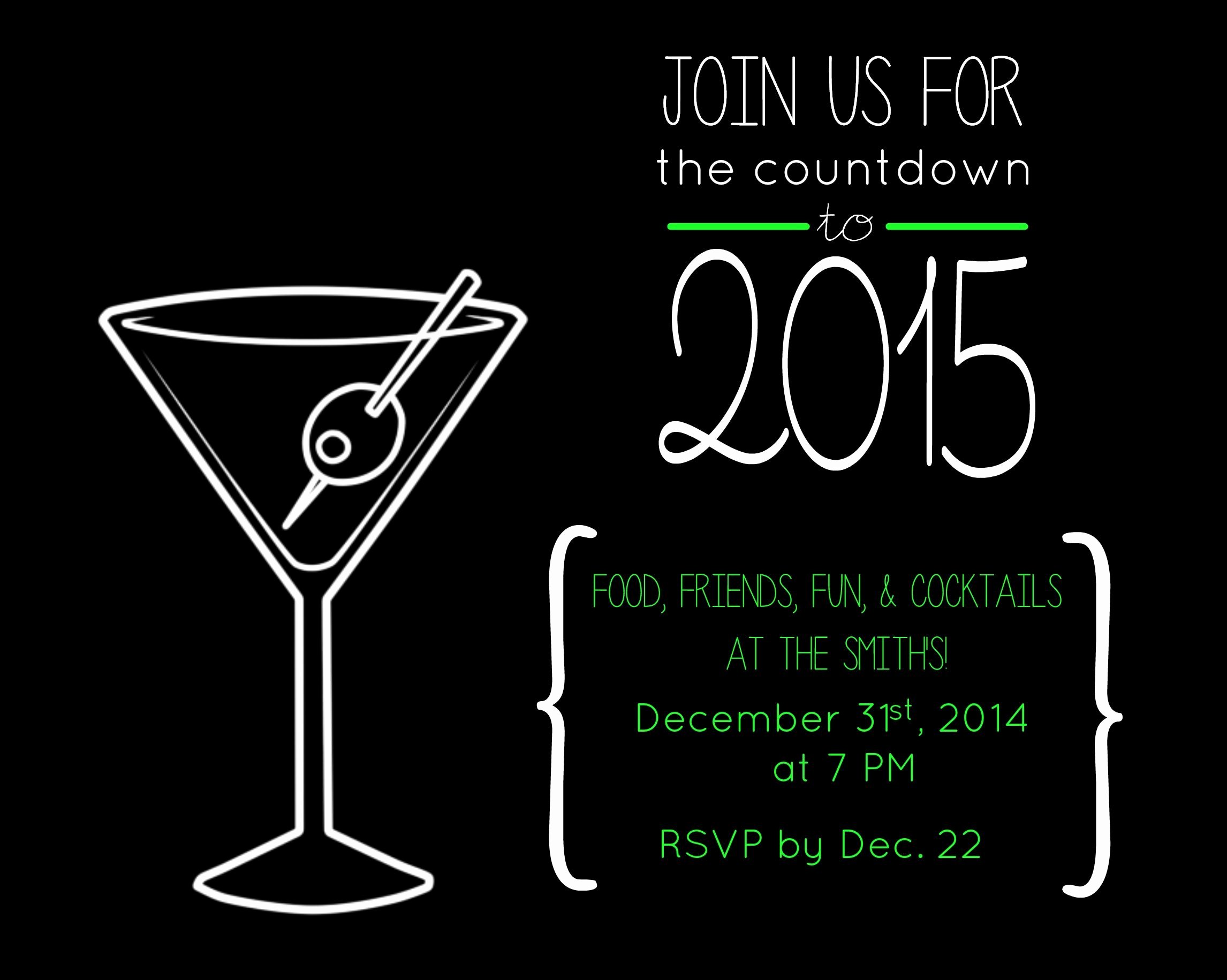 New Year Party Invitation Template Fresh Free New Years Eve Party Invitation