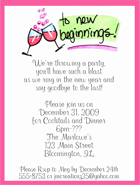 New Year Party Invitation Template Fresh New Year S Eve Party Invitations Wording